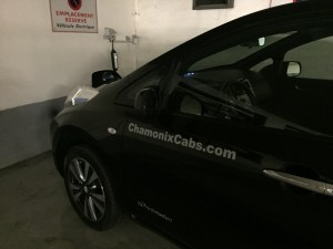 Charging in Chamonix