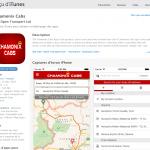 Chamonixcabs app